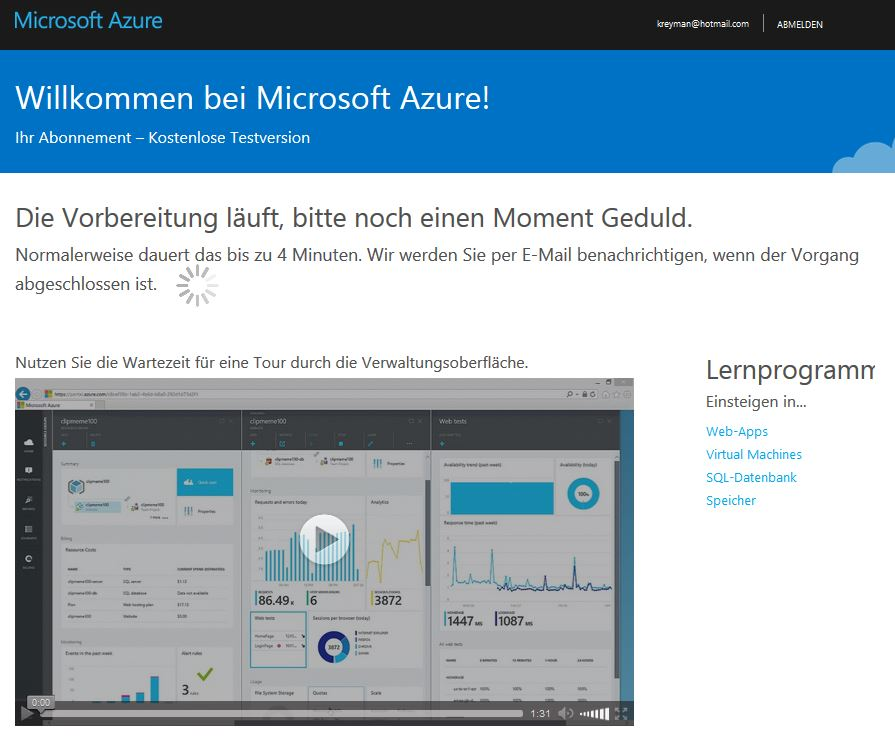 Azure First Steps 003