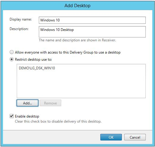 XenDesktop Create Delivery Group 006