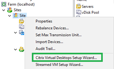 101 CTX Desktop Wizard