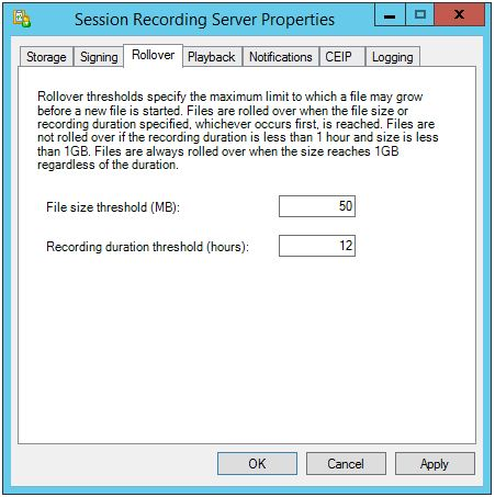 Session Recording Config 004