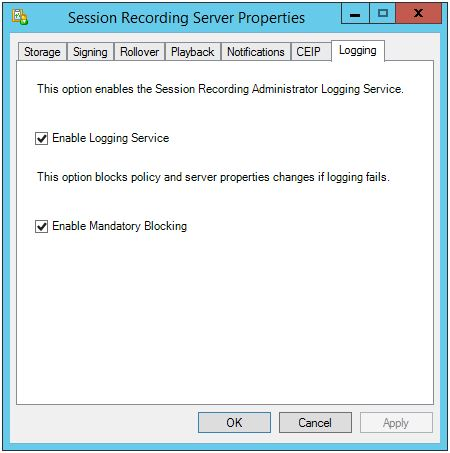 Session Recording Config 008