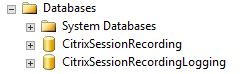 Session Recording SQL DB
