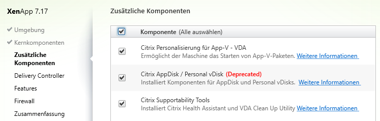 Citrix XenDesktop - XenApp 7 17 - 7 16 - 7 15 - 7 14 - 7 13 - 7 12