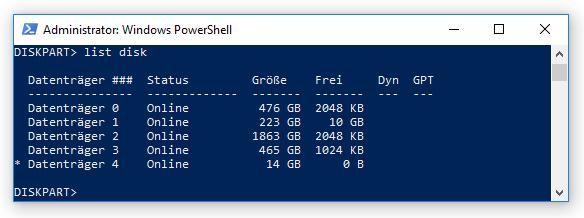 03 Srv2019 per USB