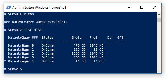04 Srv2019 per USB