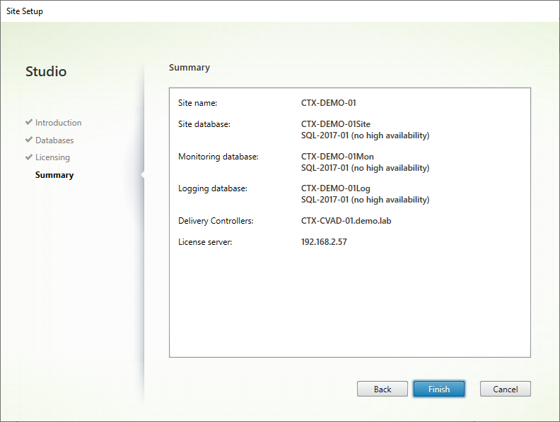 05 Citrix Initial Config