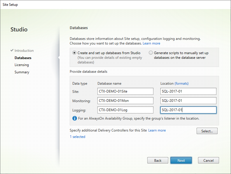 Option1 01 Citrix Initial Config