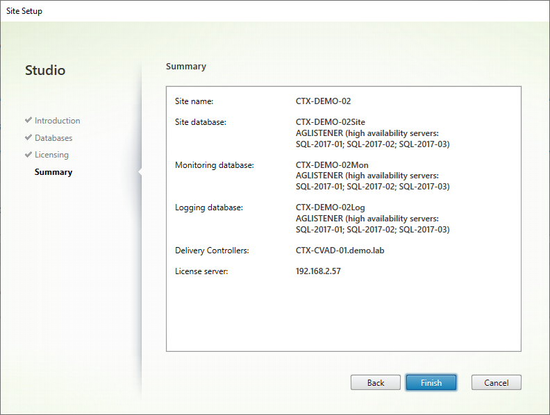 Option2 03 Citrix Initial Config