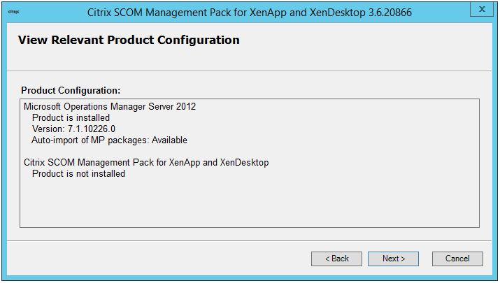 Citrix SCOM Management Pack für XenDesktop und XenApp